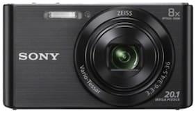 Sony Cyber-shot DSC-W830 20.1 MP Point & Shoot Camera (Black) + Free Lexar 16GB SD Card