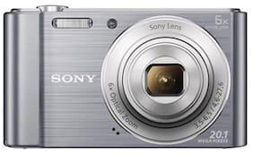 Sony Cyber-shot DSC-W810 20.1 MP Point & Shoot Camera (Silver)