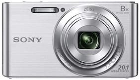 Sony Cyber-shot DSC-W830 20.1 MP Point & Shoot Camera (Silver)
