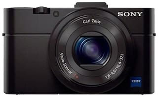Sony DSC-RX100 II 20.2 MP High Zoom Point & Shoot Camera (Black) + Carry Case + 8GB SD Card