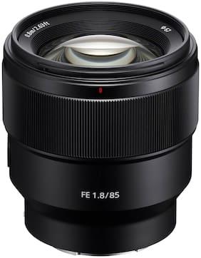 Sony FE 85 mm F/1.8 lens (Black)