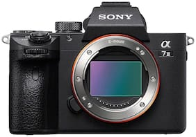 Sony ILCE-7M3 Full-Frame 24.2MP Mirrorless Interchangeable Lens Camera Body Only (Black)