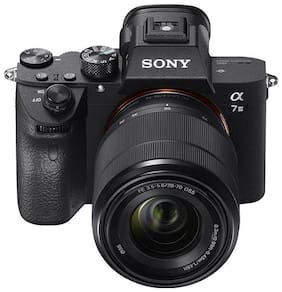 Sony ILCE7M3B Full Frame Mirrorless Compact System Camera with SEL2870 Lens Kit - Black