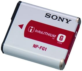 Sony NP-FG1 Rechargeable Battery (White & Red)