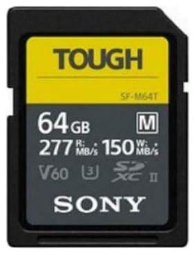 Sony SF-M Series Tough UHS-II 64GB Memory Card #SFM64T/T1