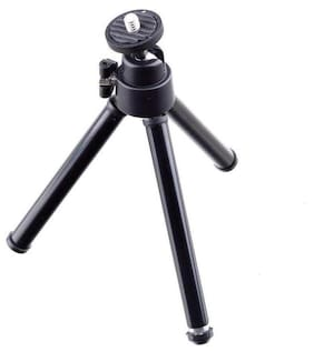 Supremacy Universal Mini Tripod For Digital Camera & All Android Phones (Black)