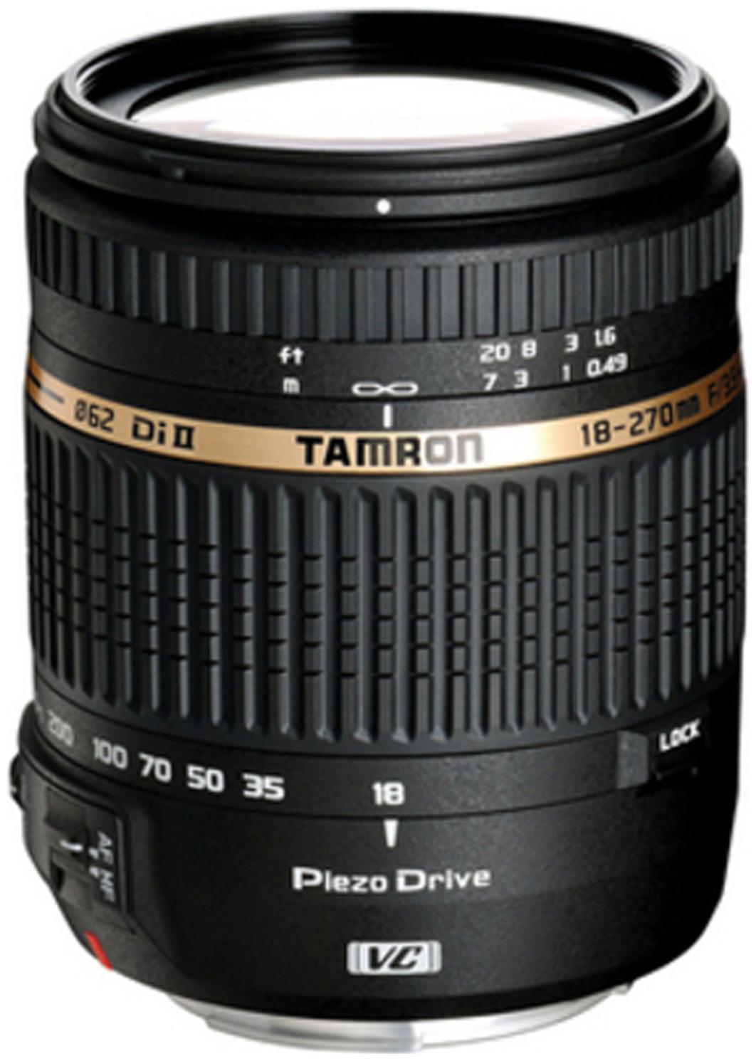 Tamron 18   270 mm F/3.5 6.3 Di II VC PZD w/DA 18 For Nikon Digital SLR Lens  Black