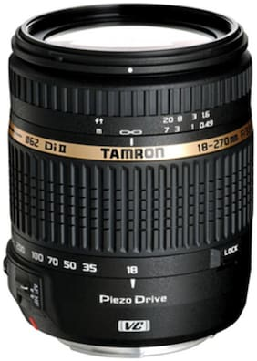 Tamron 18 - 270 mm F/3.5 6.3 Di II VC PZD w/DA 18 For Nikon Digital SLR Lens (Black)