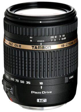 Tamron 18 - 270 mm F/3.5 6.3 Di II VC PZD w/DA 18 For Nikon Digital SLR Lens (Black)