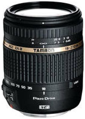 Tamron 18 - 270 mm F/3.5 6.3 Di II VC PZD w/DA 18 For Canon Digital SLR Lens (Black)