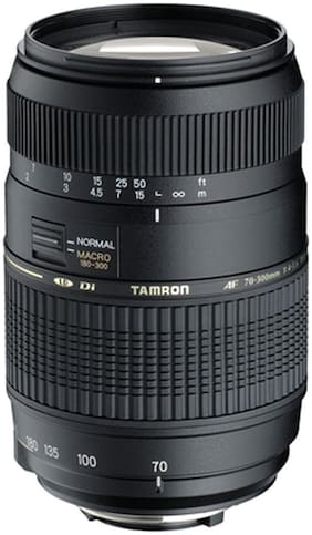 Tamron AF 70 - 300 mm F/4-5.6 Di LD Macro For Nikon Digital SLR Lens (Black)