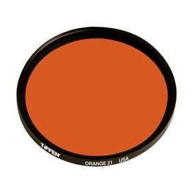 Tiffen 58mm #21 Glass Filter - Dark Orange #58OR21
