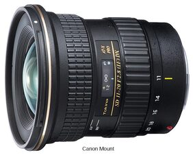 Tokina AT-X 11-20mm F2.8 Pro DX Canon