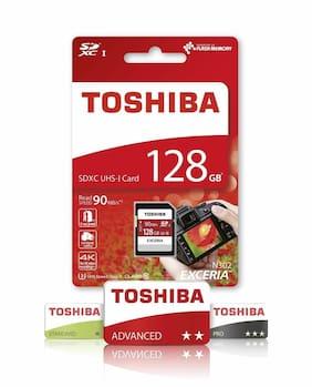 Toshiba 16GB 32GB 64GB 128GB SD Exceria Class 10 UHS-I 90mb/s THN-N302