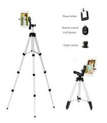 Tripod 3110 Universal Tripod - 3110 Portable & Foldable Camera Standwith Three-dimensional Head & Quick Release Plate for Canon Nikon Sony Cameras Camcorders iPhone & Androids By By(BLULOTUS)