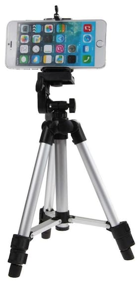 Tripod - 3110 Portable & Foldable Camera Standwith Three-dimensional Head & Quick Release Plate for Canon Nikon Sony Cameras Camcorders iPhone & Androids  By(BLULOTUS)