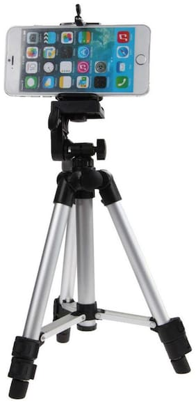 Tripod 3110 - BA Beatrice Arthur Edition | Universal Tripod - 3110 Portable & Foldable Camera - Mobile Tripod With Mobile Clip Holder Bracket   Fully Flexible Mount Cum Tripod