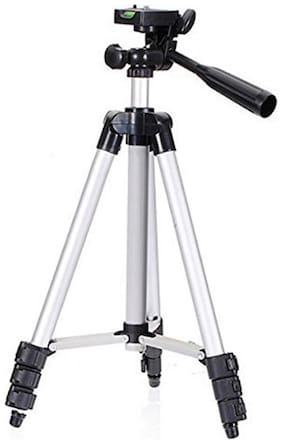 Tripod For DSLR Camera And Mobile | Fully Flexible Mount Cum Tripod Stand (3110 Tripod)