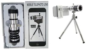 TSV 12x Tripod  Magnifier Optical Lens Comaptible For Redmi/Realme/Vivo Devices