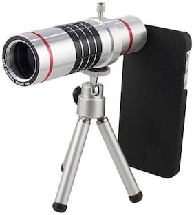 TSV 18X lens Mini Tripod With Flexible Legs Universal Mobile Camera Lens With Tripod & Holder Compatible With All Mobile Phones