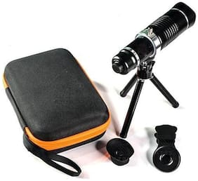 TSV 20X lens Mini Tripod Taking pictures or videos of long distance objects Optical Zooming Lens  Telescope Compatible With Techno Mobile