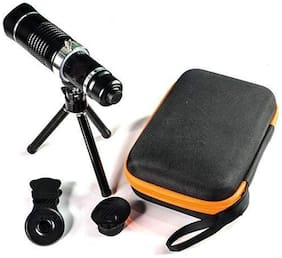 TSV 20X lens Mini Tripod With Flexible Legs Universal Mobile Camera Lens With Tripod & Holder Compatible With Oppo F1s
