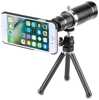 TSV 20X lens Mini Tripod With Flexible Legs Universal Mobile Camera Lens With Tripod & Holder Compatible With Vivo V9+