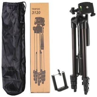 TSV 3120 Digital Camera Camcorder Tripod Mount Stand for All Android & iOS Smartphone Digital Camera