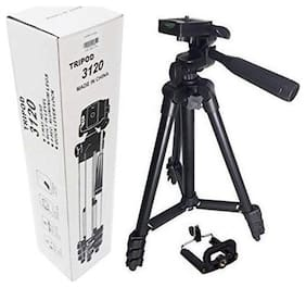 TSV  3120 Youtuber Tripod Tripod  (Black, Supports Up to 1500)