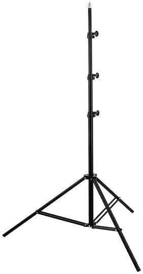 TSV 7 Feet (84 Inch) Long Tripod Stand with Adjustable Mobile Clip