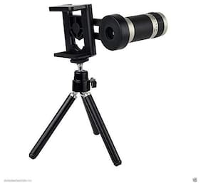 TSV 8X Zoom Mobile Telescope Lens kit for All Mobile Camera with Tripod | DSLR Blur Background Effect