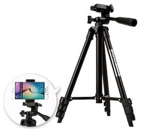 TSV Fully Flexible Mount Cum Tripod with 3-Section Lever-Lock Legs for Most Video Cameras