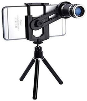 TSV  Mini Tripod Taking pictures or videos of long distance objects 8X Optical Zoom Lens Telescope Compatible With Techno Mobile