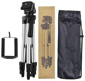 TSV [Portable Camera 3110 Tripod] Light Weight Tripods with Black Nylon Carry Travel Bag Tripod for DSLR Camera