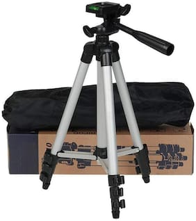 TSV Portable Travel Lightweight Aluminum Tripod 3110 with Nylon Carry Case for Mobile Phone with Nylon Carry Case
