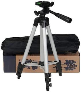 TSV Portable 3110 Travel Lightweight Aluminum Tripod for Mobile Phone Smartphone Mount for All Smartphone & DSLR Camera