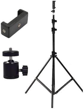 TSV Premium Quality 7 Feet Long Tripod Stand for Self Video Shoot