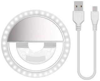 TSV  Selfie Ring Light For Mobile | Tik tok Light Ring | Video Shooting Flash | All Device Supported With 3 Brightness Modes