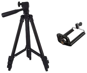 TSV Tripod-3120 Portable Adjustable Aluminum Lightweight Camera Stand For Samsung Galaxy s8