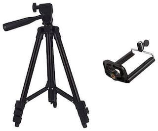 TSV Tripod-3120 Portable Adjustable Aluminum Lightweight Camera Stand For Samsung Galaxy s8