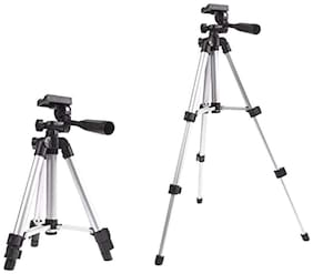 TSV Tripod-3110  Aluminum Lightweight Camera Stand With Three-Dimensional Head & Quick Release Plate