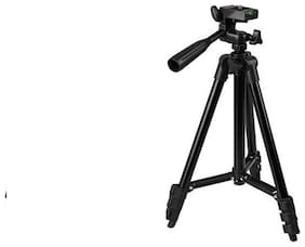 TSV Tripod-3120 Portable Adjustable Aluminum Lightweight Camera Stand For apple iPhone 8