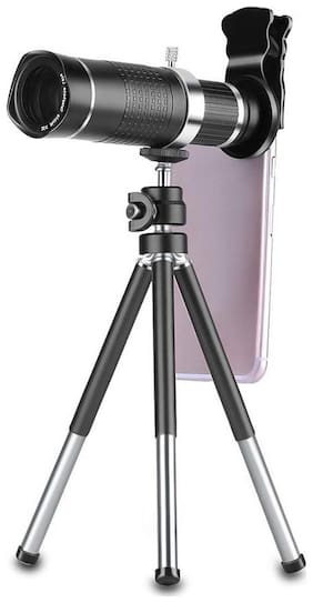 TSV  Universal 20XZoom Mobile Phone Telescope Lens with Tripod Stand for All Smartphone