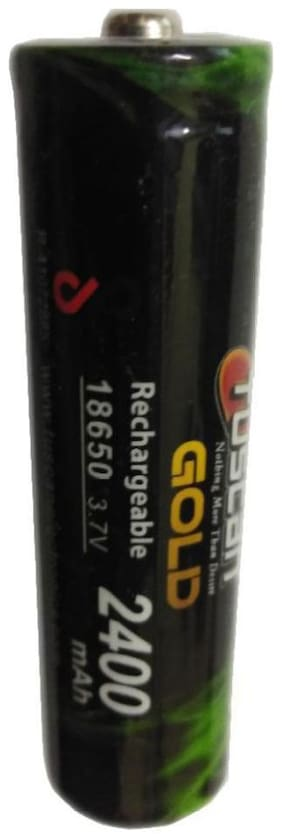 Tuscan 18650 Li-ion 3.7V 2400 mAh Rechargeable Battery (Pack of 1)