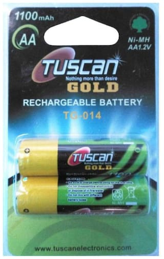 Tuscan Ni-MH 1.2V AA 1100 mAh Rechargeable Battery (Pack of 1)