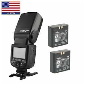 US Godox Ving V860II-N 2.4G i-TTLCamera Flash Speedlite + Extra  Li-on Battery