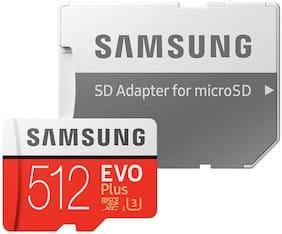US Seller EVO Plus Samsung Memory 512GB 512 G GB Micro SD SDXC MicroSD Class 10