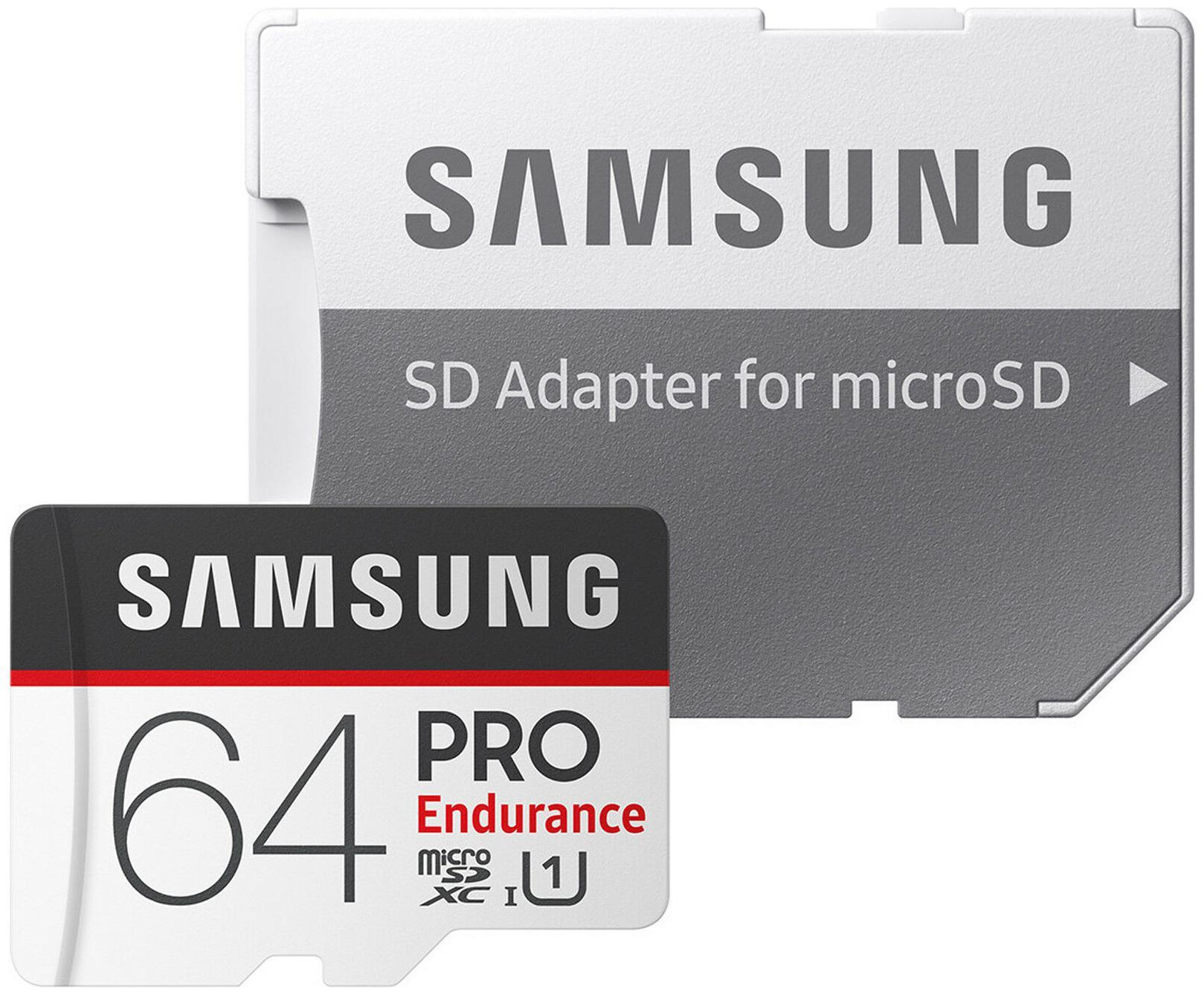 US Seller PRO Endurance Samsung Memory 64 GB 64  GB Micro SD SDXC MicroSD Class 10
