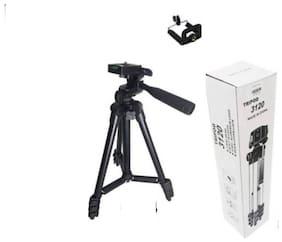 VAIRO  3120 Universal Portable Digital Camera Professional Portable Legs Aluminium Flexible Tripod Stand Best Use for Make Videos On Youtube