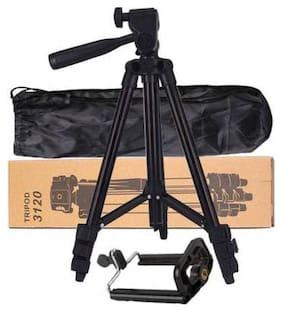 VAIRO Tripod-3120  Portable Adjustable Aluminum Lightweight Camera Stand With Three-Dimensional Head